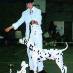 Corrado winning CHAMPION CLASS @ BELGIAN CLUB SHOW 1997