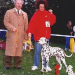 Moon winning CLUB WINNER & BEST IN SHOW & HUNGARIAN CLUB WINNER 1999
